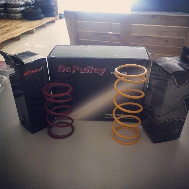 [VESPA GARAGE] - Dr Pulley Part Performance For Modern Vespa LX/S/LXV/Primavera/GTS