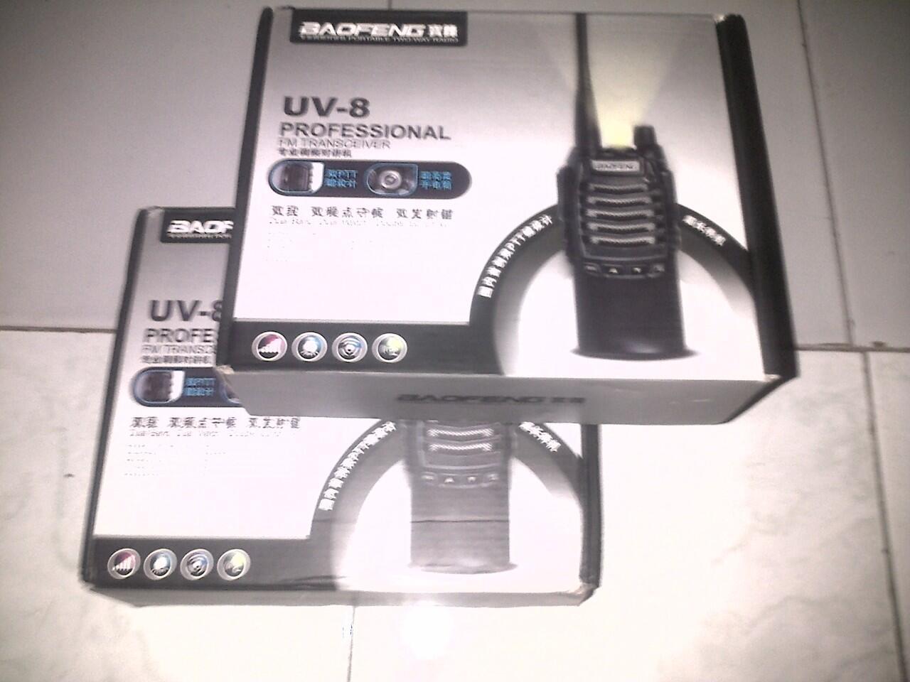HT Baofeng UV-8 Dual band (2unit)