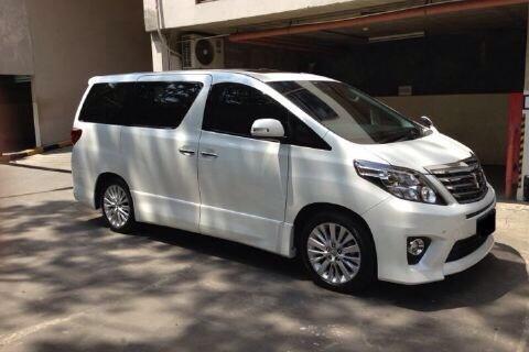 Rental Mobil Bandung New Alphard + Driver