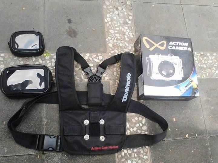 Rompi Kamera Go Pro/Pocket cam