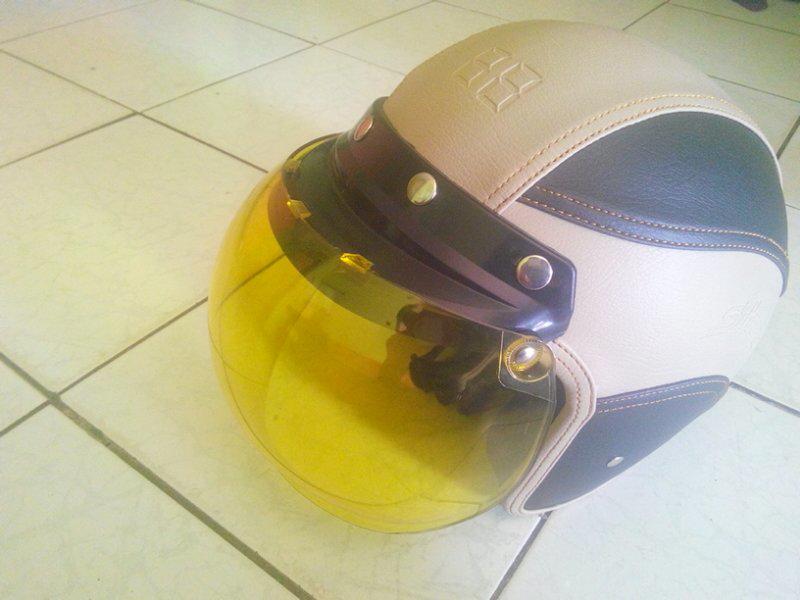 helm retro kulit murah jakarta