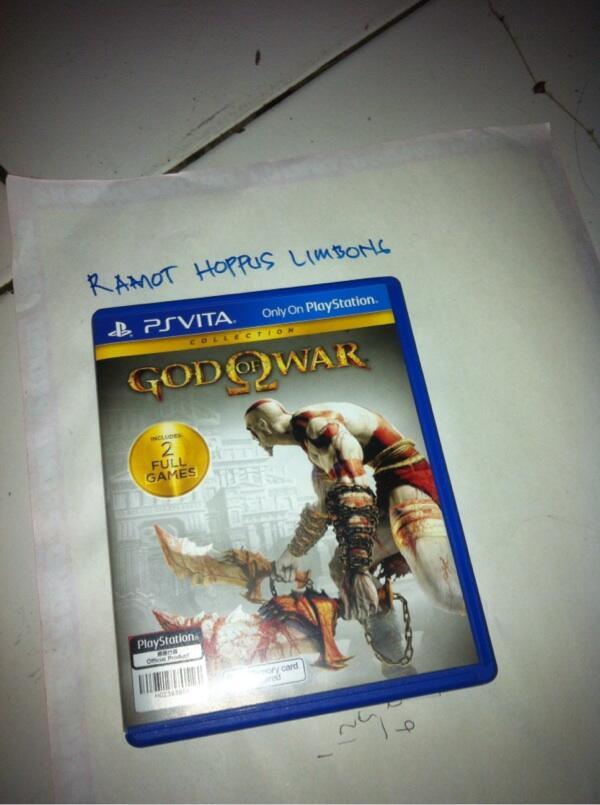 PS Vita games God Of War