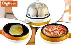 Multifunction pan 2in1, Egg boiler + frying pan
