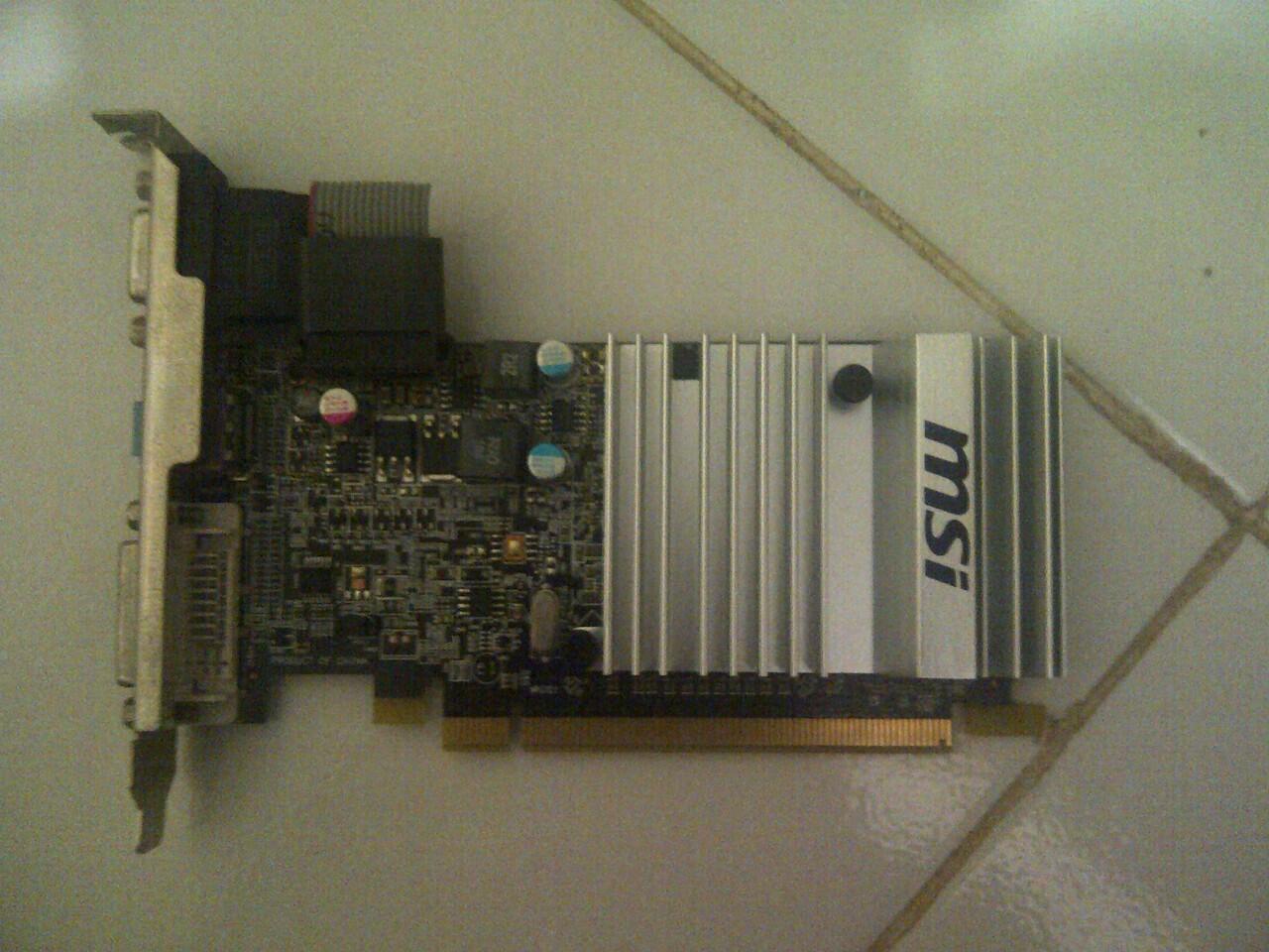 MSI HD 5450 Depok !!