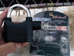 gembok alarm anti potong,anti maling bisa cod