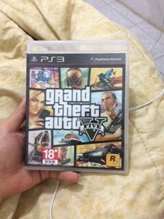 JUAL BD PS3 GTA 5 (GTA V), God of War 3, Uncharted 3, dll
