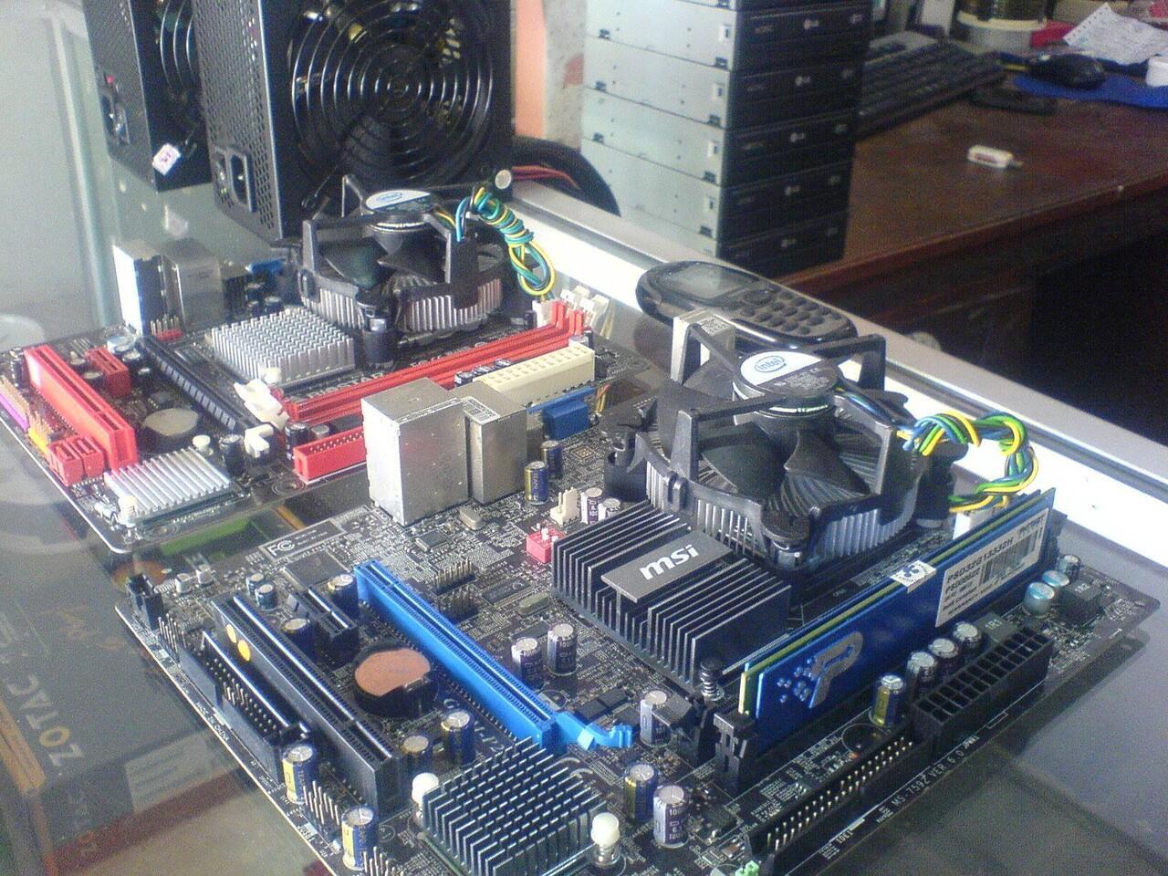 MSI G41 DDR3 + E8400