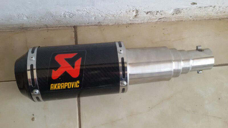 knalpot eacing new vixion/rr mono/cbr150
