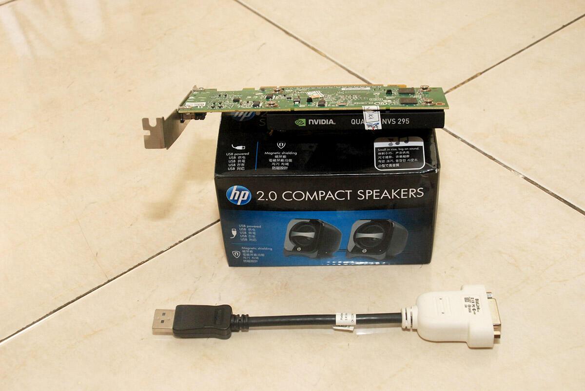 Obral Quadro NVS 295 + Speaker HP 2.0 .... Cuma 400 rb