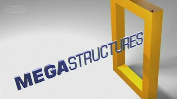 DVD National Geographic : Mega Structures, Mega Cities, Mega Factories