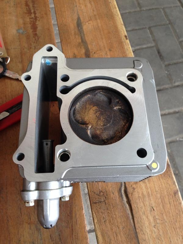 Silinder kit suzuki satria fu lepasan motor tahun 2014