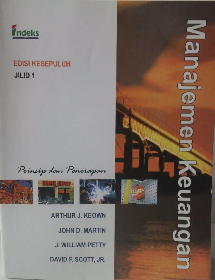 Jual Buku Kuliah Murah Manajemen Keuangan (Keown, Martin, dkk) Edisi 10