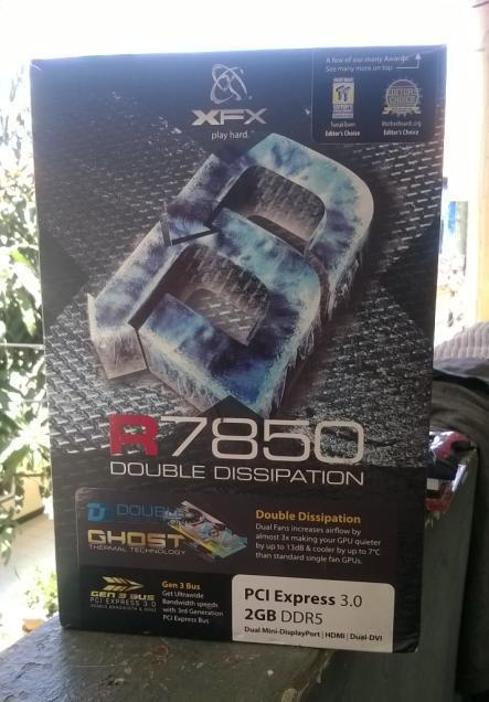 XFX R7850 GDDR5 2GB **Desain & Gaming Peformance**