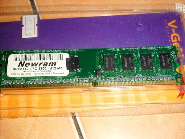 ( Cuci Gudang ) VGA Pci-e 8500GT , RAM DDR2 1GB 512MB