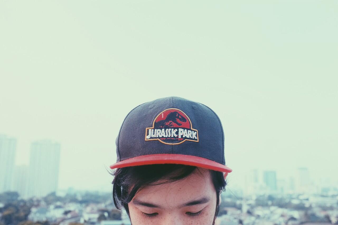 Jurassic Park - 90s Vintage Retro Snapback Cap