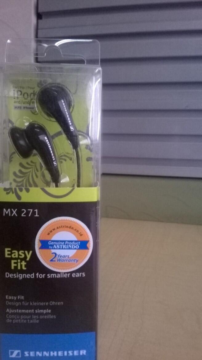Earphone/Headset Sennheiser MX271 ori astrindo 2th guarantee murah