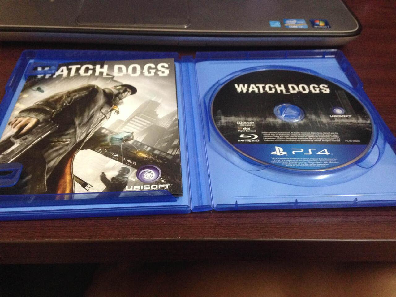 WTS BD PS4 Watch Dogs Reg 3 (2nd mulus)