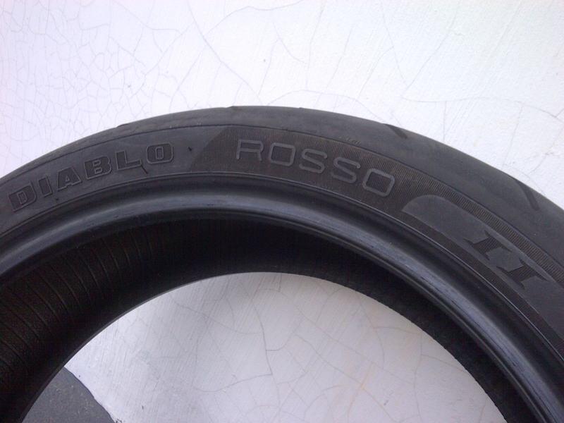 Ban Motor Pirelli Diablo Rosso Ii Zr Ring 17 Inch