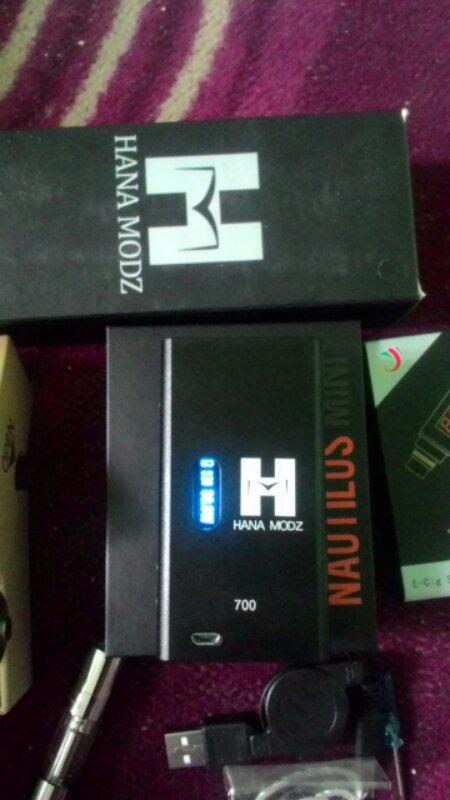 == Hana mod by cloupor /Aspire Nutilus mini/Joytech e-juice =='˚˚˙