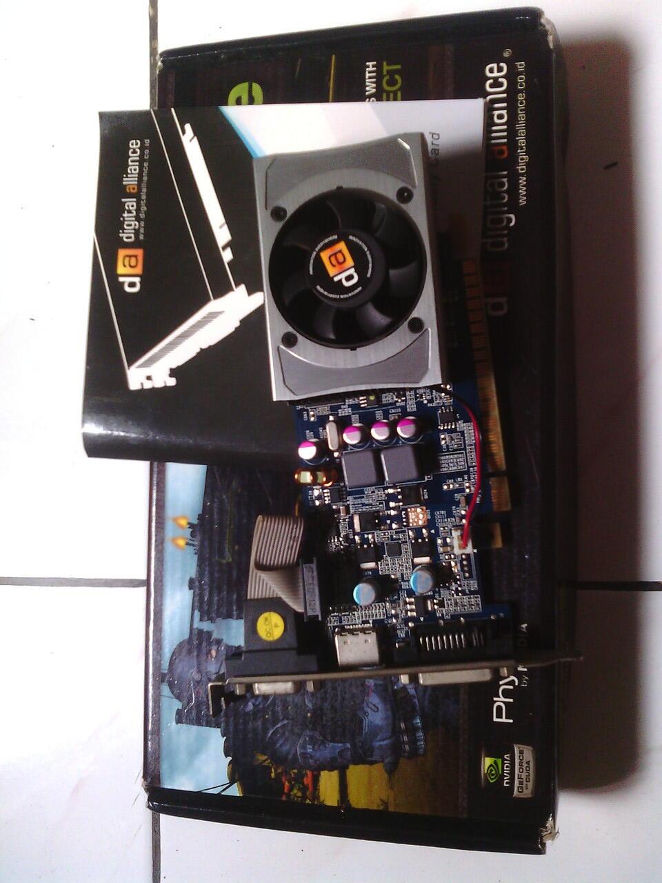 VGA DIGITAL ALLIACE GT 430 1GB DDR3