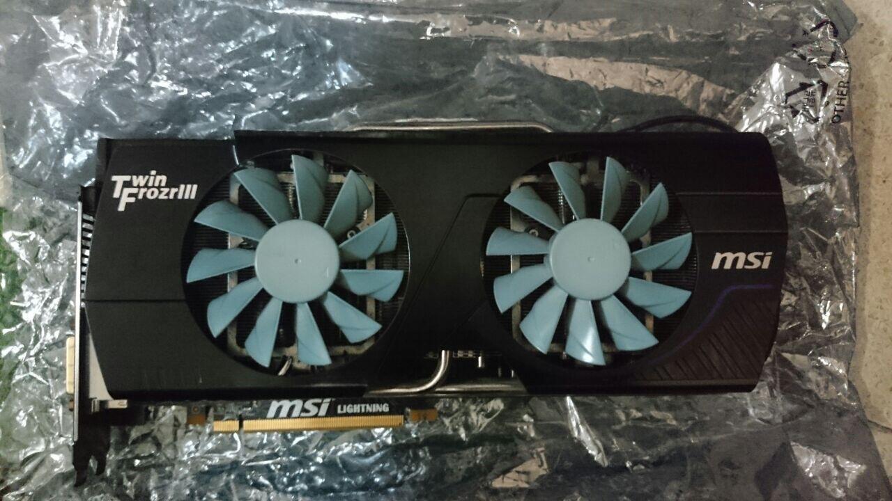 MSI GTX 580 Ligtning Power Edition 3 GB 384 Bit