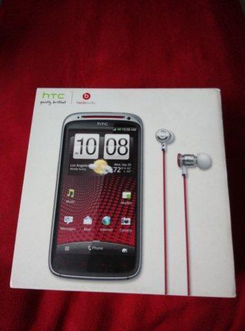 HTC sensation xe beats audio full set with dr dre earphone