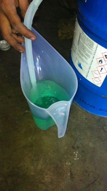 racing fuel bensol hijau/green avgas