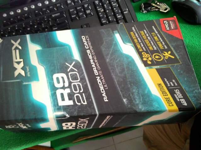 XFX R9-290x 4G GDDR5 512bit BNIB, Murah banget