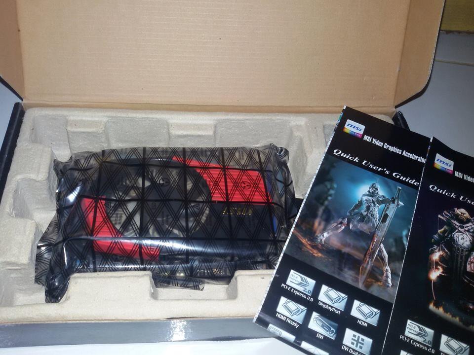 VGA Card MSI GT 430 2gb JOSS!