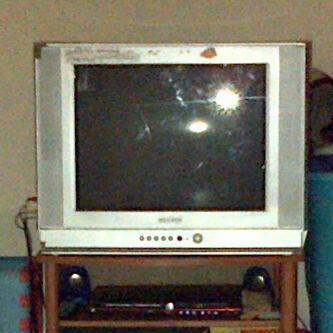 TV Samsung 21 inch Layar mati