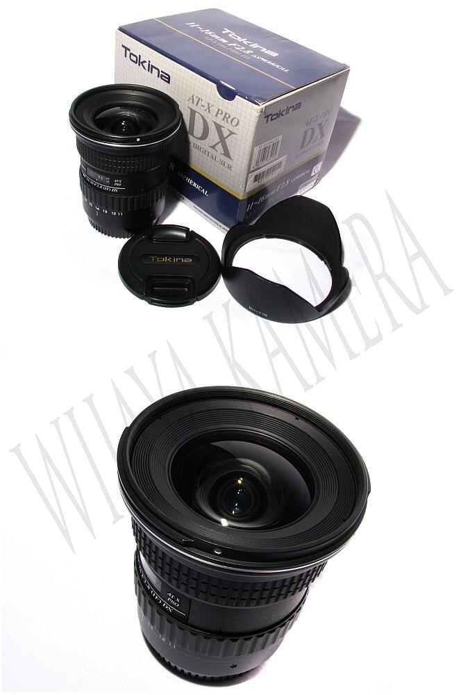 Mulus banget Tokina 11-16 ATX F2.8 for Canon