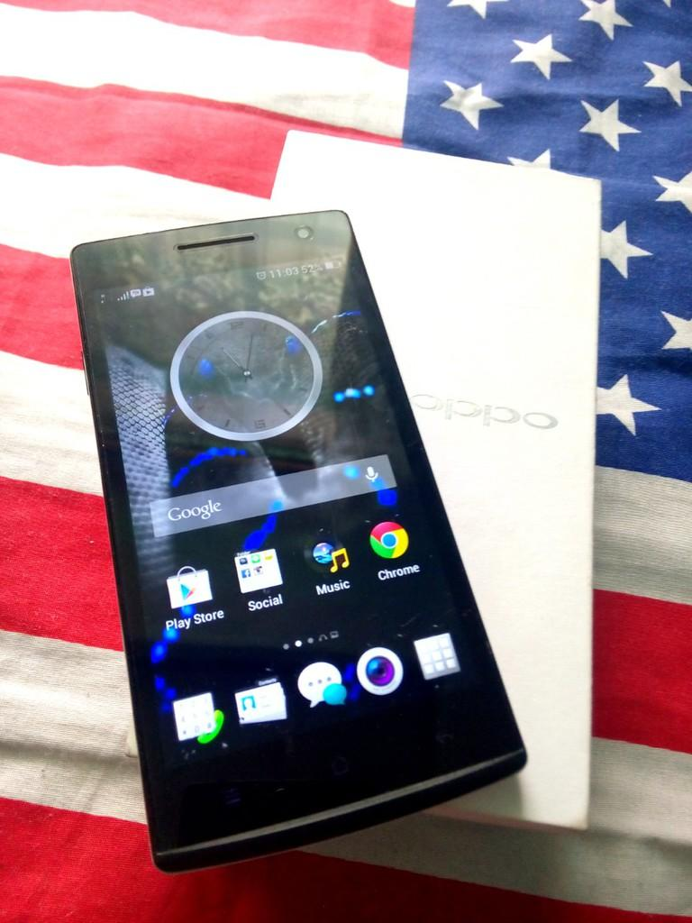 Terjual Oppo Find 5 Mini R827 White Quadcore Color Os Bandung Kaskus Putih