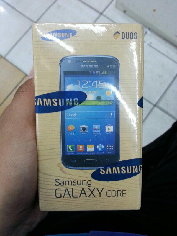 Galaxy Core 1 (NEW) / Garansi resmi SEIN 1 th