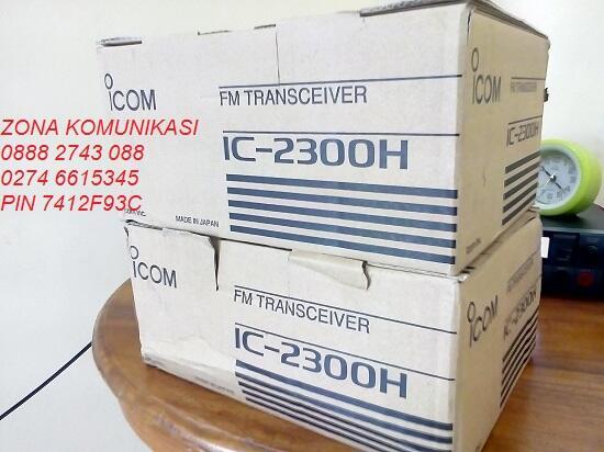 HT ICOM IC 2300H New Sisa Pengadaan