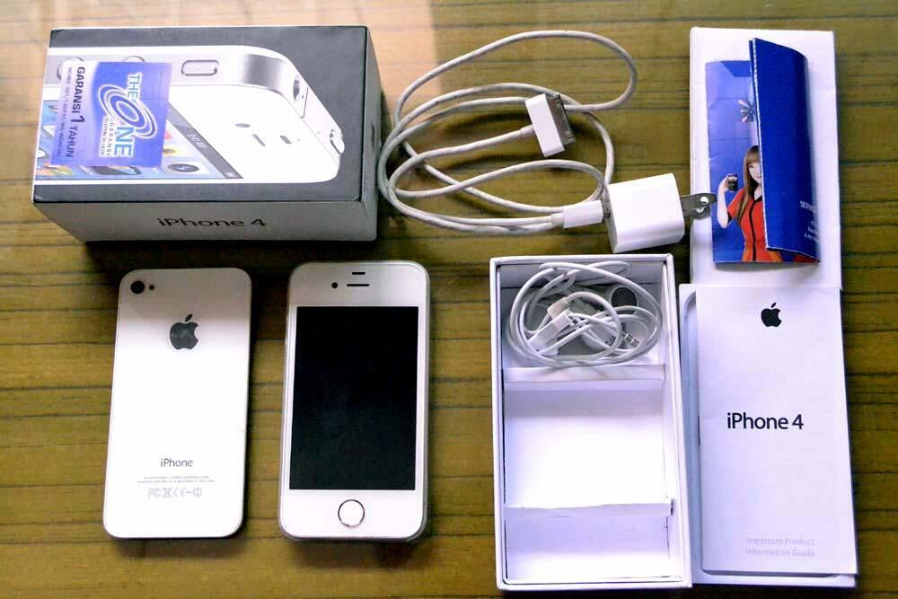 Terjual jual iphone 4 32gb second seperti iphone 5s murah  eefc11e122