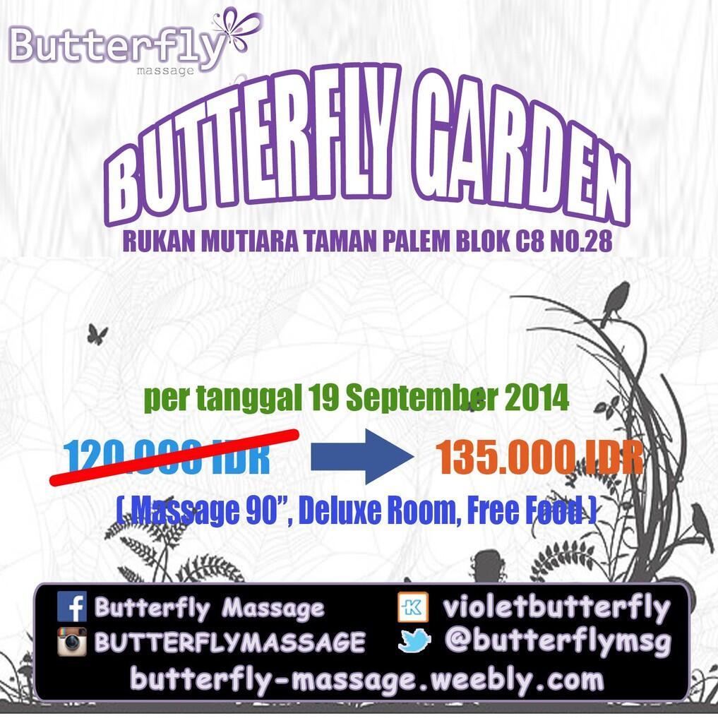 BUtterfly Massage - Mutiara Taman Palem