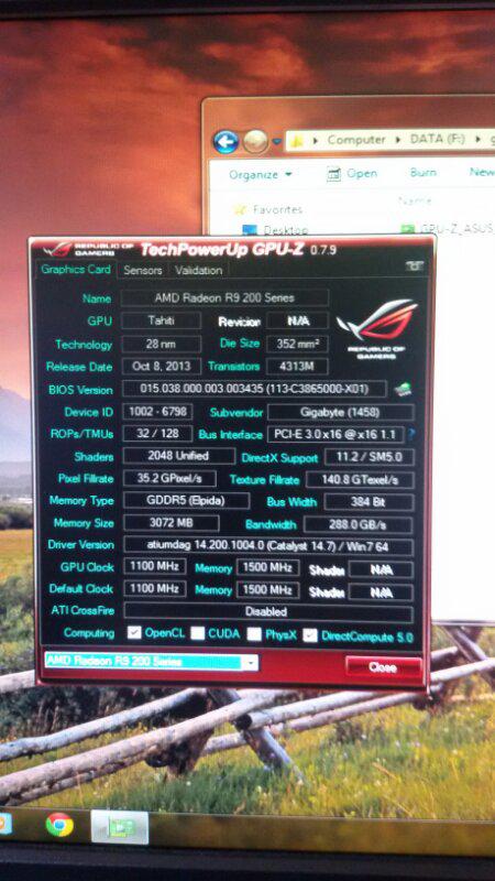 jual gigabyte R9 280x
