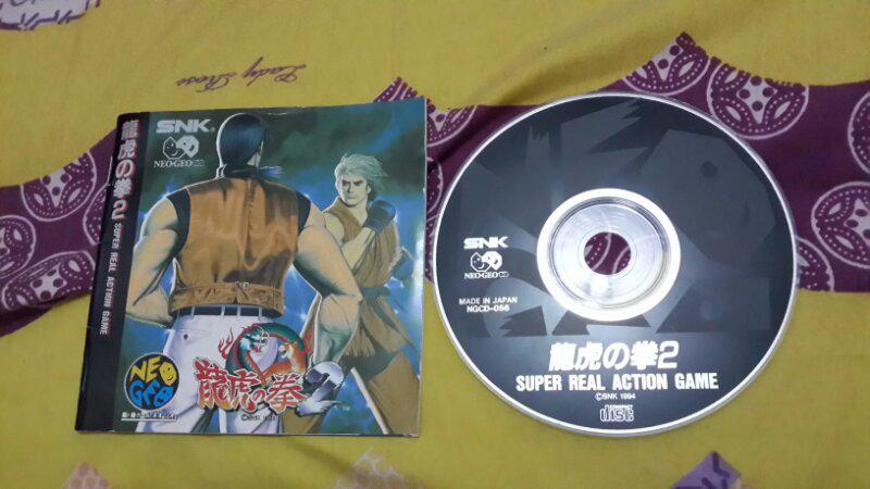 kaset game Neo Geo CD