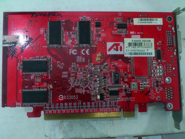ATI RADEON X300 SE