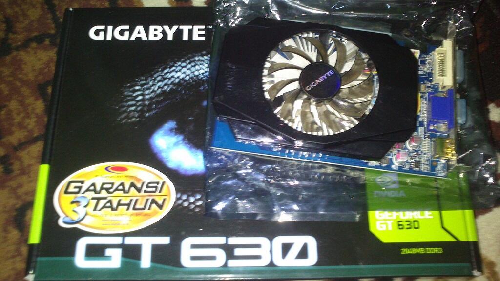 Gigabyte GT 630   DDR3   128 bit   2GB   Malang