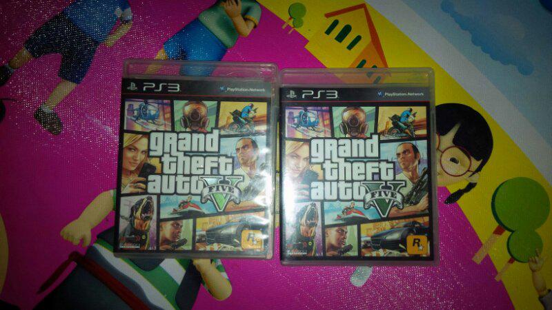 Jual BD PS3 GTA V