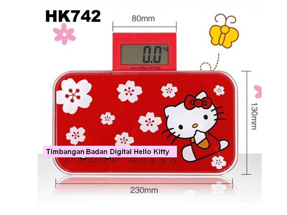 Timbangan Badan Digital Hello Kitty