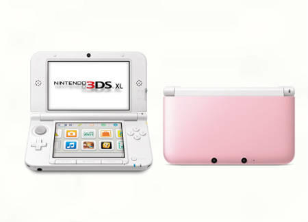 DI JUAL MESIN 3DS XL PINK COLOUR, MESIN PS4,MESIN PS3,MESIN XBOX,MESIN PSP,DLL