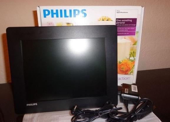 Philips SPF 4608-Digital Foto Frame 8 Inch