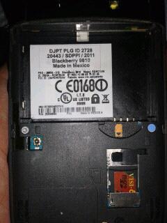 Blackberry Torch 2 ( 9810 )