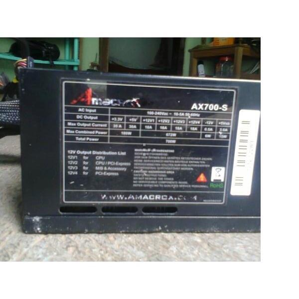 PSU AMACROX SPEED POWER AX 700 WATT