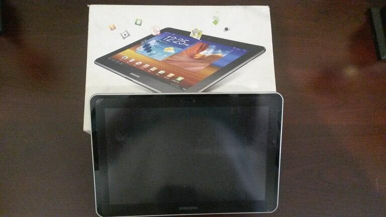"Handphone Android Tablet Samsung Galaxy Tab 10.1"" GT7500 Kondisi MATOT"