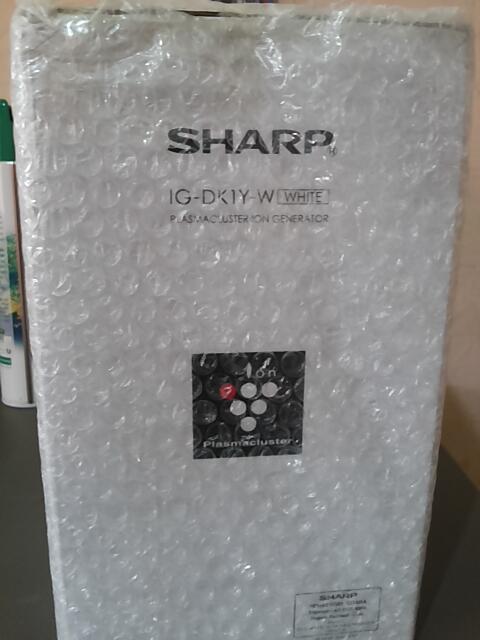 SHARP AIR PURIFIER IG-DKIY PUTIH