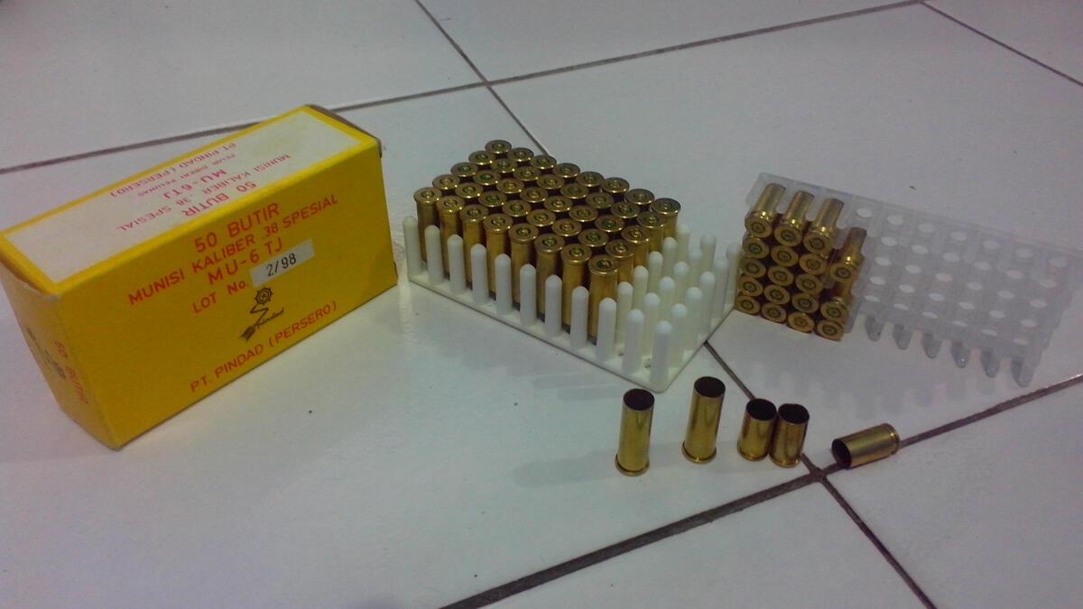 jual selongsong peluru magnum asli