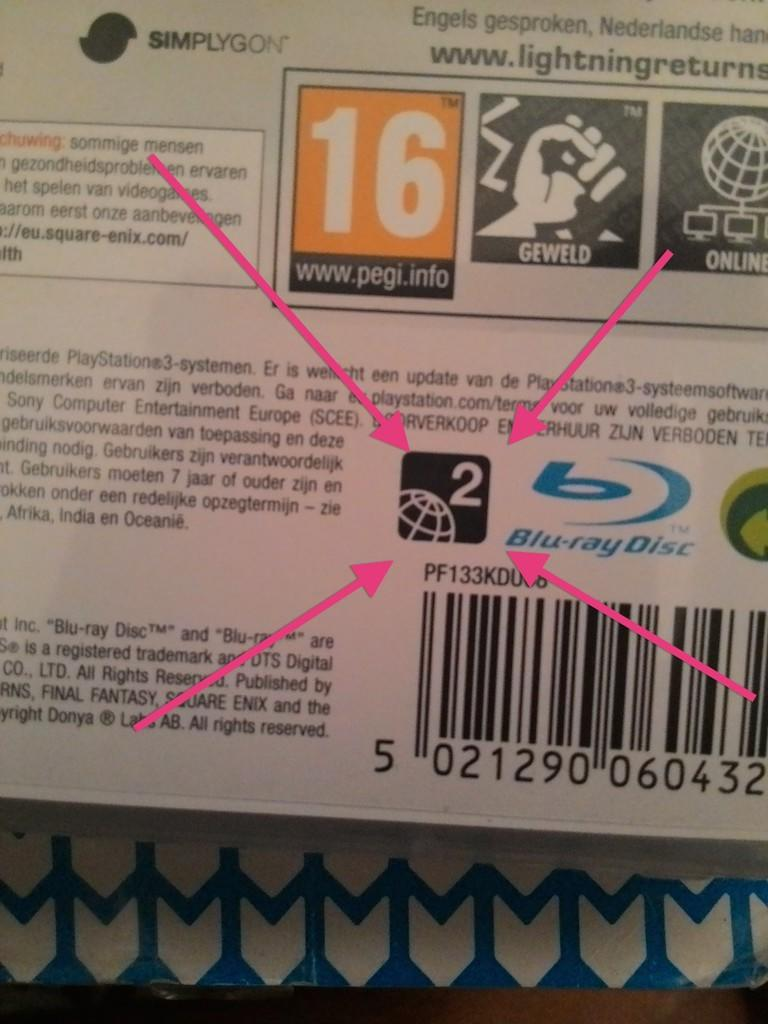 [WTS] BD Ori FF-XIII Lighting Returns Reg 2 Mulus